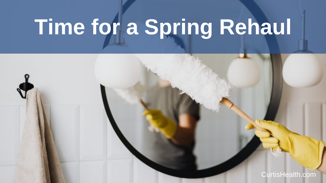 Time for a Spring Rehaul