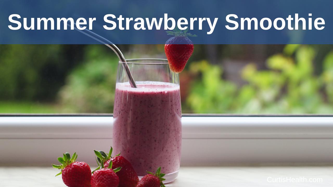 Strawberry Summer Smoothie Recipe